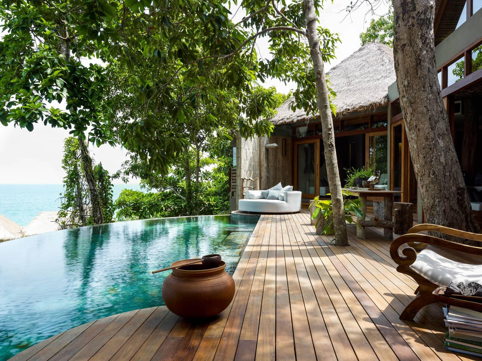 Song Saa Insel -Dschungelvilla mit zwei Schlafzimmern - Radermacher Reisen