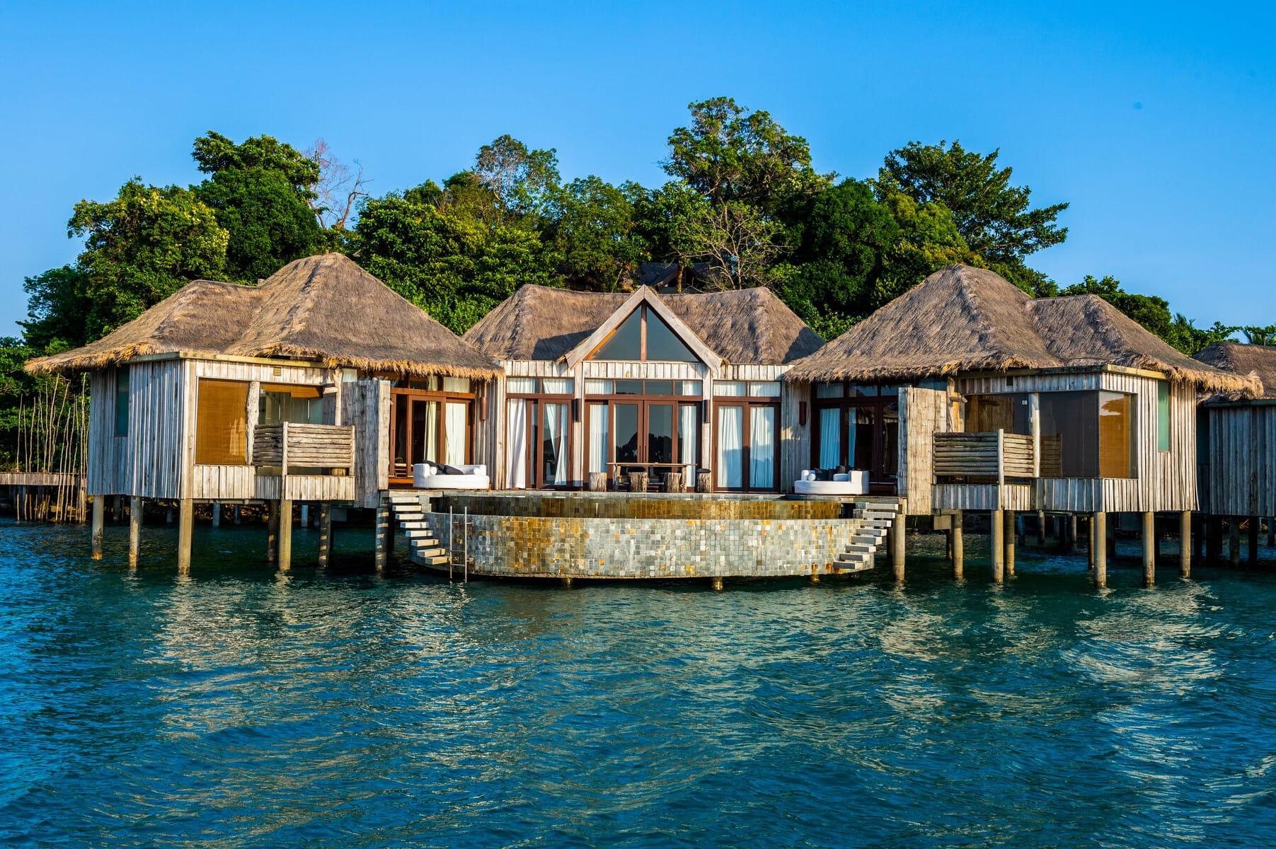 Song Saa Insel - Overwater Villa mit zwei Schlafzimmern - Radermacher Reisen